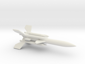 1/200 Scale UK Bloodhound SA Missile in White Natural Versatile Plastic