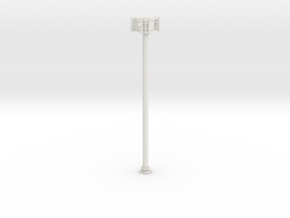 Cell Tower 1-87 HO Scale in White Natural Versatile Plastic