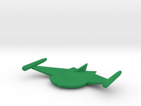 Romulan Bird-of-Prey (TOS) 1/3500 in Green Strong & Flexible Polished