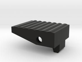 Adapter Button in Black Natural Versatile Plastic