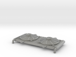1:10 scale Radiator - Axial Wraith & Vaterra Twin  in Metallic Plastic
