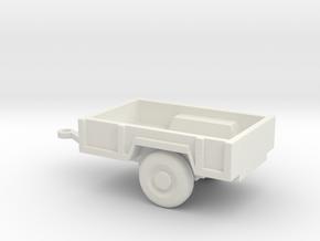 1/110 Scale M-101 Trailer in White Natural Versatile Plastic