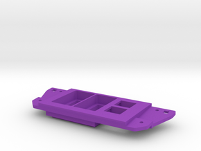 Tacoma Dual Narrow Switch With Double Keystone in Purple Strong & Flexible Polished