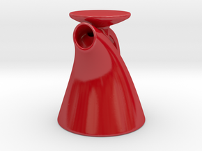Pitcher Perfect in Gloss Red Porcelain