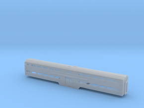 N Scale MILW/CRIP Budd Bilevel Cabcar in Frosted Ultra Detail