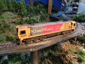 NZ120 KIWIRAIL DL CLASS incl Bogie Sideframes in Frosted Ultra Detail