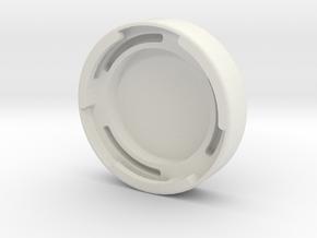 CAME Single (Gimble) Cover in White Strong & Flexible