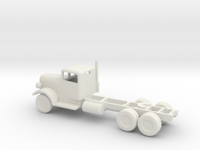 1/144 Scale KENWORTH C500 Tractor in White Strong & Flexible