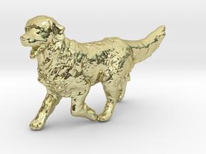 1/24 Running Golden Retriever Male in 18k Gold
