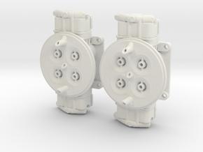 Dual 1050 1/8 in White Natural Versatile Plastic