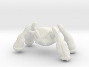 Metagross in White Natural Versatile Plastic