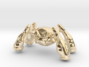 Metagross in 14K Yellow Gold