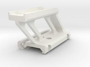 T1 Micro AImpoint Mount in White Natural Versatile Plastic