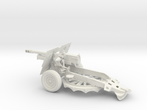 WIP WWII British howitzer Ordnance QF 25-pounder 2 in White Strong & Flexible