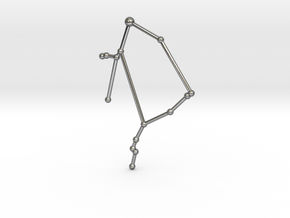 Ophiuchus in Polished Silver