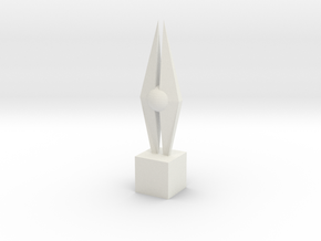 1/6 2015 CF GPX Trophy in White Natural Versatile Plastic