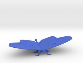 Medium Butterfly in Blue Processed Versatile Plastic