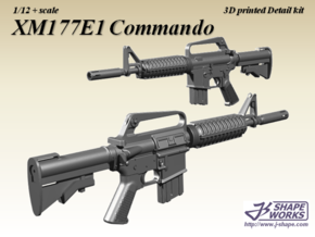 1/9 XM177E1 Commando in Frosted Extreme Detail