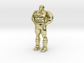 Thanoseid custom Heroclix in 18k Gold