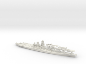 1/1250 IJN BB Yamato[1945] in White Strong & Flexible