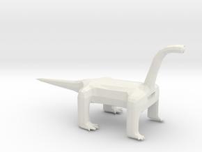 Long Neck Oneye Alien in White Natural Versatile Plastic