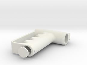 M4/AR15 PDW GRIP in White Natural Versatile Plastic
