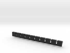 Liniennummernhauben in Black Hi-Def Acrylate
