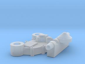 YT1300 STUDIO SCALE SIDEWALL LEFT GREEBLIE in Smooth Fine Detail Plastic