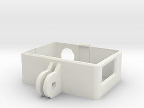 Go Pro Hero 4 Frame in White Natural Versatile Plastic