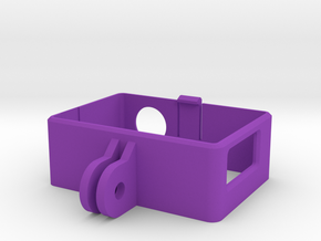 Go Pro Hero 4 Frame in Purple Strong & Flexible Polished