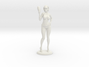 Spacegirl Lana - 54mm in White Natural Versatile Plastic