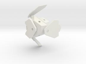 G.O.B.O. Bluebird in White Strong & Flexible