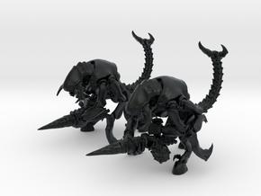 Skorponkrieger 01 II in Black Hi-Def Acrylate