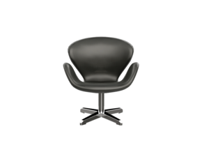 Swan Lounge Chair - Arne Jacobsen  in White Strong & Flexible: 1:24