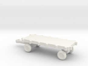 1/144 Scale Bomb Cart in White Strong & Flexible