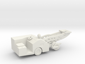 1/144 Scale Aircraft Bomb Loader in White Natural Versatile Plastic