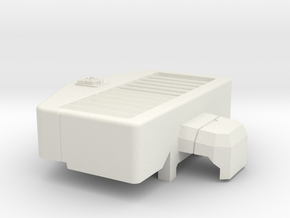 Aerial Catapult's Radiator Grille in White Natural Versatile Plastic