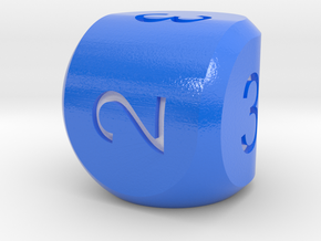 D3 Strange Dice v2 in Coated Full Color Sandstone