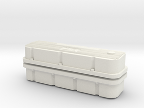 M/T Valve Covers 1/25 in White Strong & Flexible