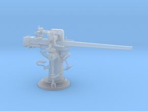 1/96 USN 3 inch 50 [7.62 Cm] Cal. Deck Gun in Smooth Fine Detail Plastic