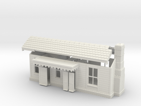 CO42 Consall Station  in White Natural Versatile Plastic