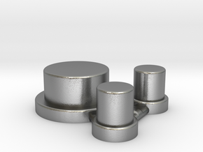 Alpinetech Style Actuators in Natural Silver