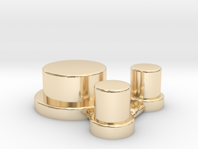 Alpinetech Style Actuators in 14K Yellow Gold