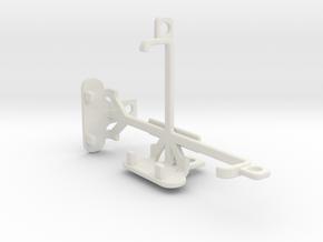 Alcatel Pixi 3 (3.5) tripod & stabilizer mount in White Natural Versatile Plastic