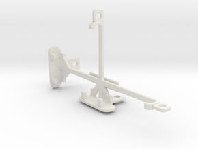 Apple iPhone 7 tripod & stabilizer mount in White Natural Versatile Plastic