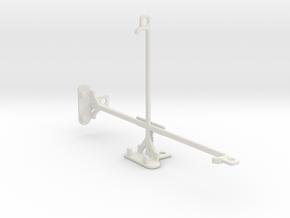 Asus Google Nexus 7 (2013) tripod mount in White Natural Versatile Plastic