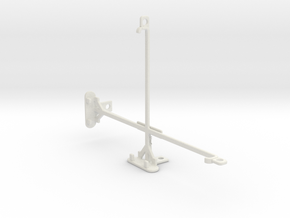 Apple iPad mini 2 tripod & stabilizer mount in White Natural Versatile Plastic