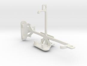 BLU Dash Music tripod & stabilizer mount in White Natural Versatile Plastic