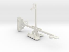 BLU Win JR LTE tripod & stabilizer mount in White Natural Versatile Plastic
