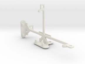 Google Pixel tripod & stabilizer mount in White Natural Versatile Plastic